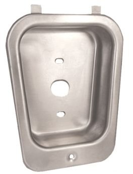 List/Hallowell/Art Metal Recessed handle housing for multi point