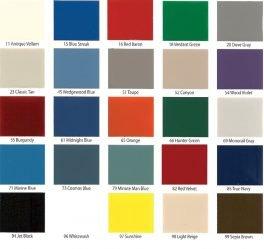 Locker Color Charts Republic Color Chart