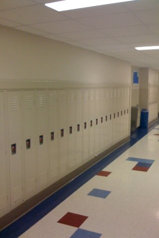 Bond County School New Locker Installation