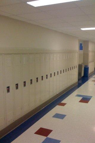 Bond County School New Locker Installation