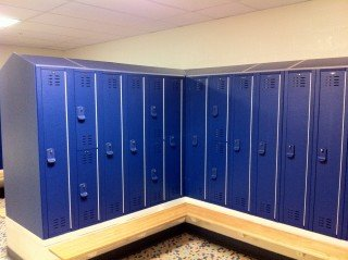 Center of Clayton New Locker Installation