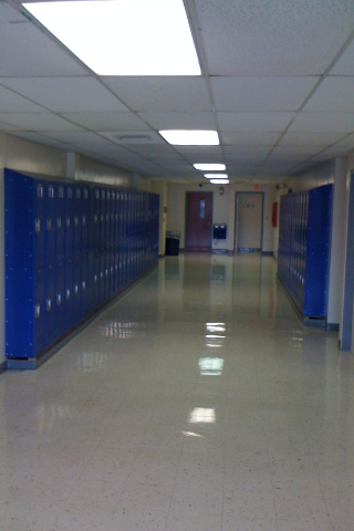 Columbia High School New Locker Installation