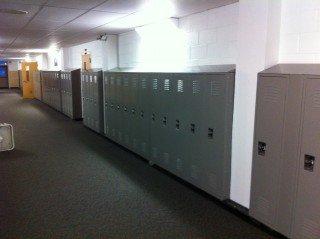 East Richland High School New Locker Installation
