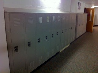 East Richland High School New Locker Installation