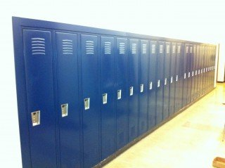 Gibault High School New Locker Installation