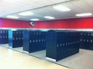 Marissa High School New Locker Installation
