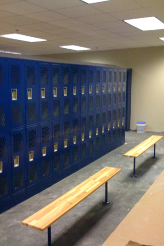 Orgill Distribution New Locker Installation