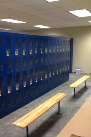 Orgill Distribution New Locker Installation