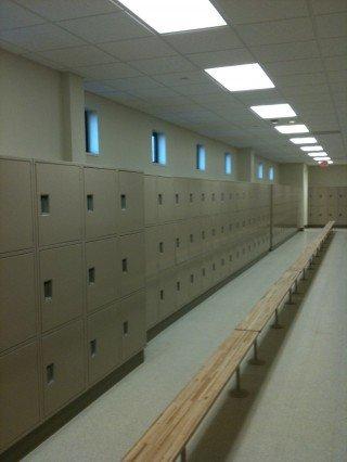 Scott Air Force New Locker Installation