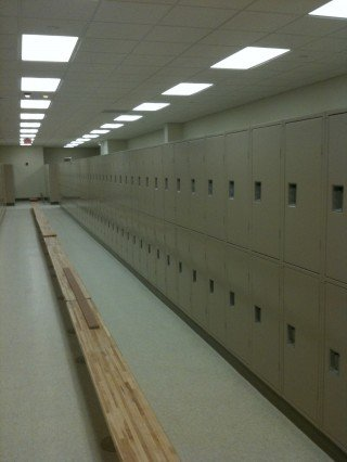 Scott Air Force New Locker Installation
