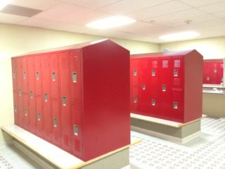 Southwestern YMCA New Locker Installation
