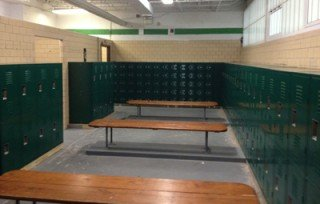 Brown County HS New Locker Installation