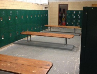 Browns County HS New Locker Installation