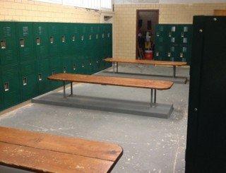 Browns County HS New Locker Installation