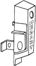 Medart Control access housing only