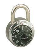 Padlocks Standard combination padlock
