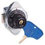 ADA Locks 1676 MKADA Master Lock ADA Built in combo lock RH locker