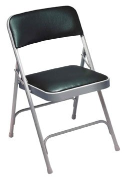 Stupendous Natl Public Seating Vinyl Padded Folding Chair Pabps2019 Chair Design Images Pabps2019Com