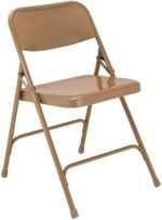 Folding Chairs, Furniture National Public Seating Premium Steel Folding Chair