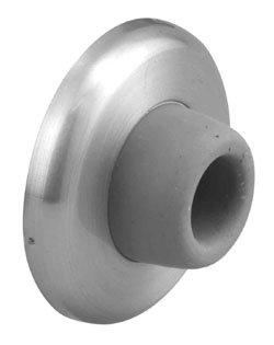 """Door Holders, Stops and Tools Wall bumper (heavy duty US26D) 2 3/8""""D"""