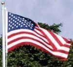 Flags and Accessories 3' x 5' US Nylon Outdoor Flag