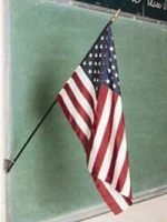"Flags and Accessories 4"" x 6"" US Classroom Flag"
