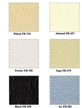 Color Charts General FRP Colors