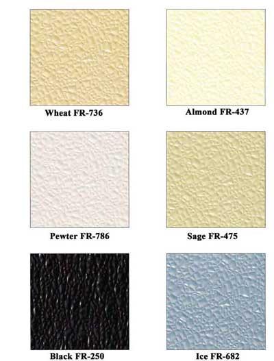 Color Charts General FRP Colors