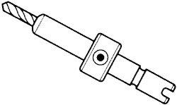 Chair Seats, Backs & Desktops Drill adapter