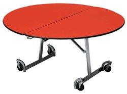 "Cafeteria Tables KI Mobile Table 72"" Round"