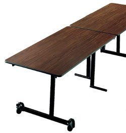 "Cafeteria Tables KI Mobile Table 30"" x 120"" Rectangular"