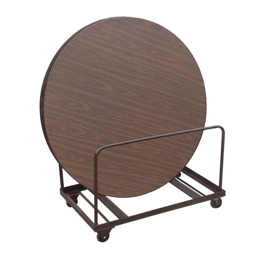 """Table Lifts and Movers 71"""" Round Table Mover (holds 8 10 71""""+ tables)"""