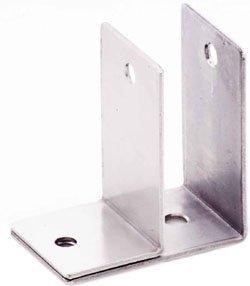 One Ear Wall Bracket, Misc Stainless Steel Hardware Stainless Steel One ear double wall bracket 1