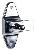 Accurate Partitions, Surface Slide Latches, All American, Flush Metal, Global Partitions Slide latch