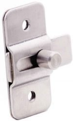Surface Slide Latches, Misc Stainless Steel Hardware SS Stamped slide latch