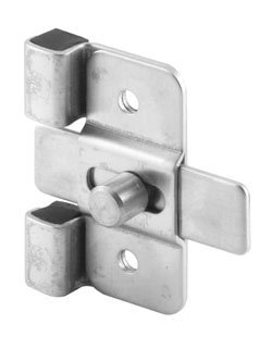 Surface Slide Latches, Misc Stainless Steel Hardware Stainless Steel Stamped inswing latch and strike