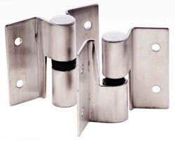 Surface Mounted Hinge Set, Misc Stainless Steel Hardware Stainless Steel Stamped hinge set LH