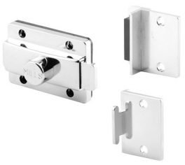 Surface Slide Latches, Mills SS Slide Latch & Strike and Keeper Set