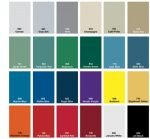 Locker Color Charts