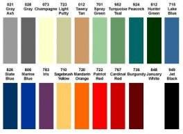 Color Charts