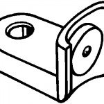 Sanymetal Sanymetal bottom hinge Discontinued (Use PS10)