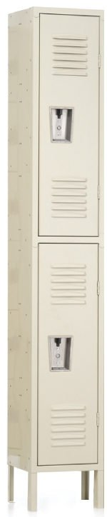 "Double Tier Locker Double Tier Locker 12"" x 12"" x 30/60"" 1 Wide"
