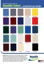 Locker Color Charts Republic Color Chart