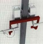 Security Latches Double door Latch w/cable lock