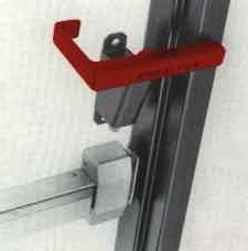 Security Latches Single door Security Latch RH
