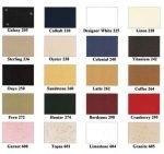Color Charts General Solid Plastic Colors