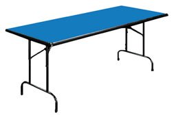 "Folding Tables 30"" x 72"" Colored Laminate Rectangular Folding Table"