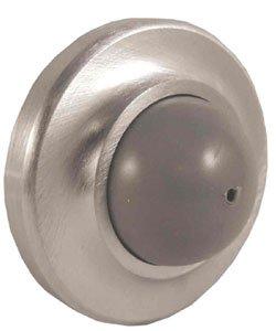 """Door Holders, Stops and Tools Wall bumper (heavy duty US26D) 2 1/2""""D"""