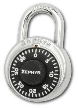 Locks, Zephyr Lock, Padlocks 1902 Combination Padlock