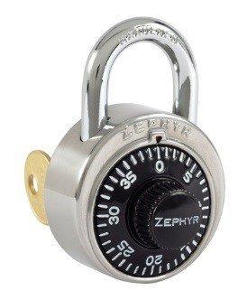 Locks, Zephyr, Padlocks 1925 Key Controlled Black Padlock